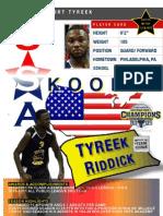 Tyreek.Riddick.Skoolz.USA.Select.Player.Card.Live.The.Dream.Fdn