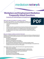 Workplace and Employment Frequently Asked Questions