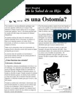 ¿Qué es una Ostomía