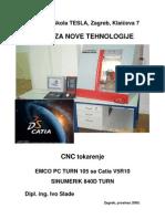 CNC Tokarenje u Catii V5
