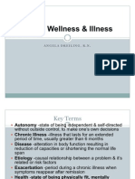 Health Wellness & Illness1
