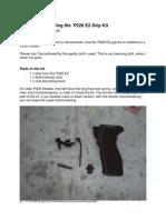 Manual for Installing the P226 E2 Grip Kit En