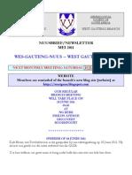 Wes-Gauteng-nuusbrief 2011-05