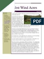 West Wind Acres Spring 2011