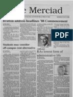 The Merciad, May 5, 1988