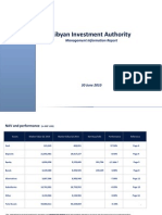 Libyan Investment Authority, As of June 2010