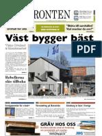 Västfronten 31 mars 2011