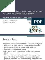 Evaluasi Program Gizi Pada Bayi Dan Balita