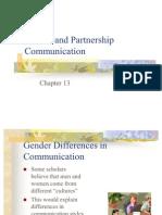 Marital and Partnership Communication