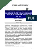 Terminos de Refer en CIA Colciencias 2007-2008