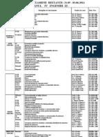 Anul IV Licenta - 2010-2011 Restante