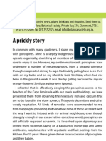 A Prickly Story