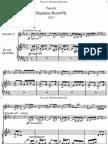 Puccini - Madama Butterfly Vocal Score