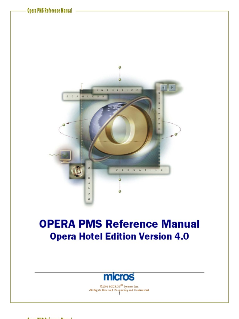 opera pms reference manual v5