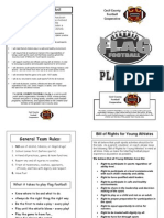 CCFC-O Flag Football Playbook