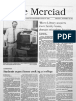 The Merciad, Nov. 10, 1988