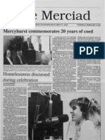 The Merciad, Feb. 9, 1989
