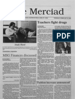 The Merciad, Feb. 16, 1989