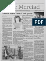 The Merciad, March 16, 1989