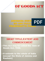 Sales of Goods Act