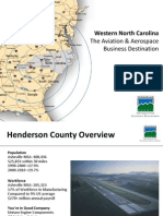 Henderson County Aviation & Aerospace Overview