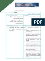 """Guía para la planeación de un proyecto"""" ACTIVIDAD UNIDAD 3 sena"""