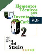 Fundacion Solar_2000_ Elementos Tecnicos Inventarios Carbono Uso Suelo