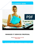 MSP Customizable Proposal - WORD