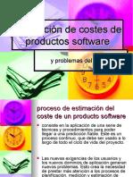 Estimación de costes de productos software