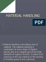 Management of Logistics