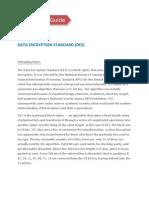 DATA ENCRYPTION STANDARD (DES)