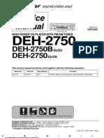 deh 2780 2750