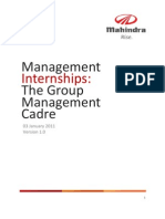 Application Process - Management Interns