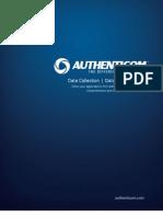 Authenticom Corporate Brochure - DMS Integration and Automotive Data Management Solutions