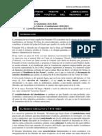 Tema 9.-Absolutismo Frente a Liberalismo Evolucion Politica Del Reinado de Fernando VII