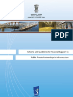 Scheme Guidelines Financial Support PPP Infrastructure-English