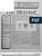 The Merciad, Nov. 9, 1989