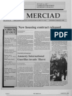 The Merciad, March 29, 1990