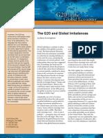 The G20 and Global Imbalances