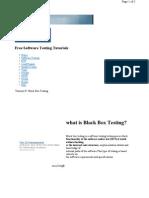 Blackbox Testing