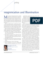 Loupes Magnification and Illumination
