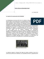 Teoria Critica en Antropología Visual - Susana Sel