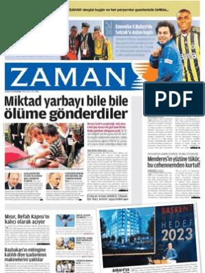 Miktad Yarbayi Bile Bile Olume Gonderdiler Zaman 26 5 2011