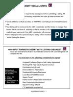 H. MLS Procedures