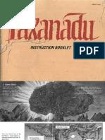 Faxanadu Manual (Nintendo Entertainment System, English)