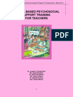 School Based Psycho Social Training for Teachers