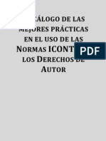 Decálogo de las mejores prácticas en el uso de las Normas ICONTEC y los Derechos de Autor