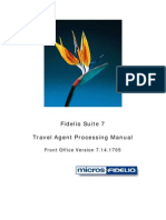 Travel Agent Processing Manual V7.14