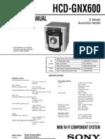 HCD-GNX600