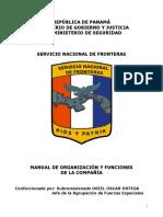 MANUAL DE ORG. Y FUNC. DE LA COMPAÑIA